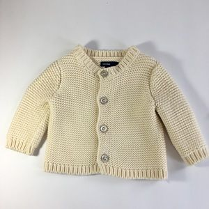 Baby GAP Chunky Sweater, Perfect for Fall, 3-6 Mos
